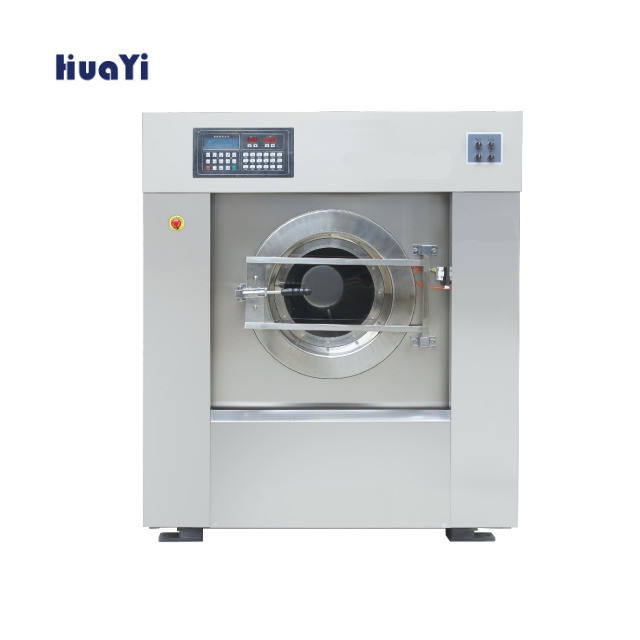 Heavy duty laundry washing machine for commercial cleaning equipment