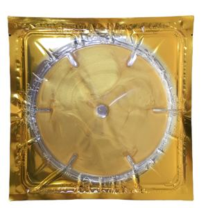 Private Label 24K Golden Collagen Crystal Breast Care Mask Treatment Pack