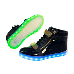 High Quality Creative Colorful Flashing Fashion Sneakers Light Led Shoes For Men