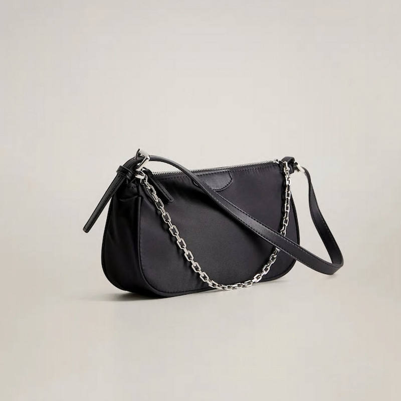 ins popular Retro Shoulder Bag For Women Ins simplicity chains Baguette Bag handbag