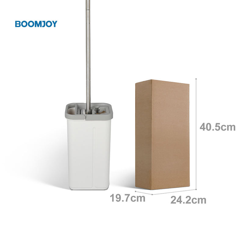 boomjoy as seen on tv products 360 microfiber Telescopic Floor Cleaning water squeeze Mop bucket with Home dry and wet mop