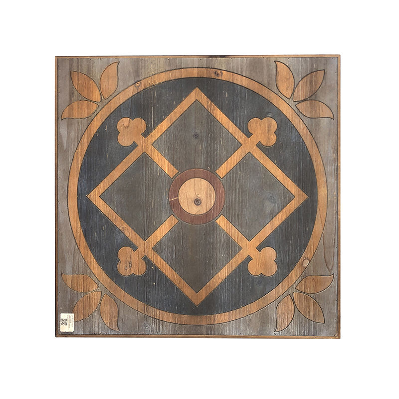 "Rustic Style Wood Decorative Picture 24""*1.5""*24"" Artistic Carving Wall Decoration Home Decoration"