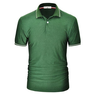 High quality custom printing embroider blank breathable pique quick dry golf polo t shirt for men