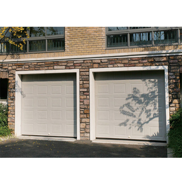 New Design Modern Villa Lacquer Finish Rolling Aluminum Garage Door