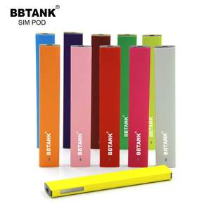BBTANK hot sell empty 1.0ml cbd oil disposables ceramic coil vaporizer e cig pen