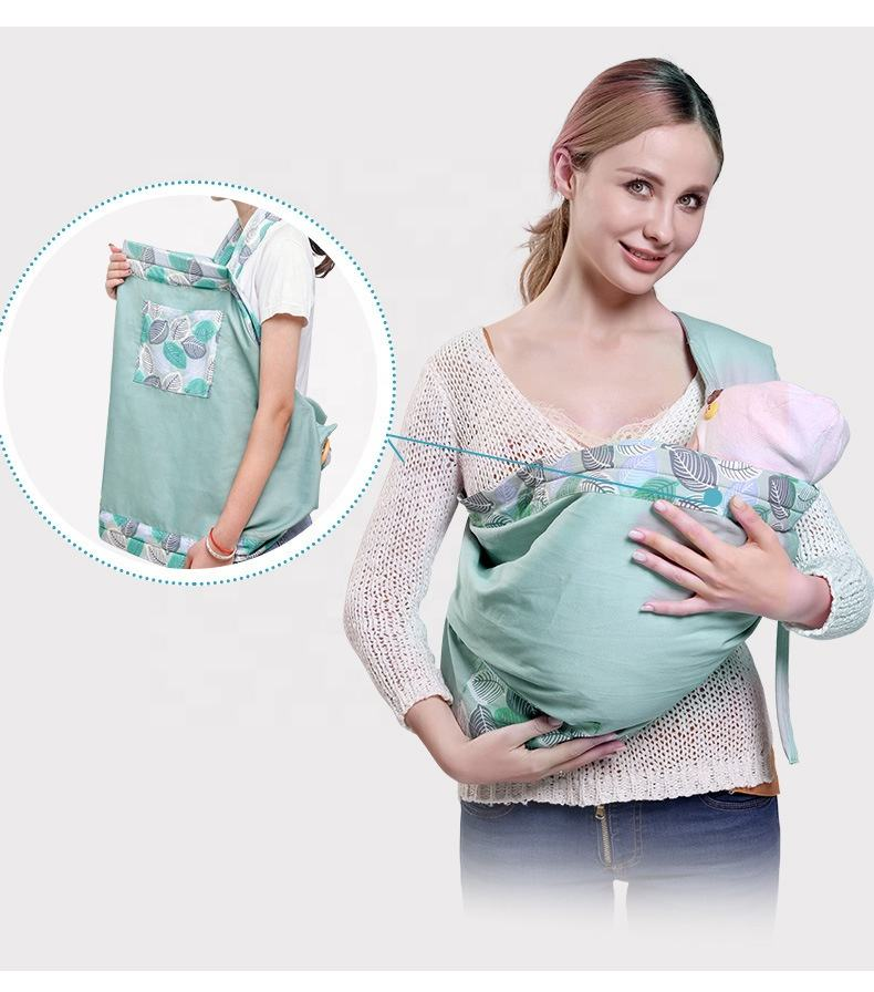 Weiche Bambus Stoff Ring Sling Baby trage