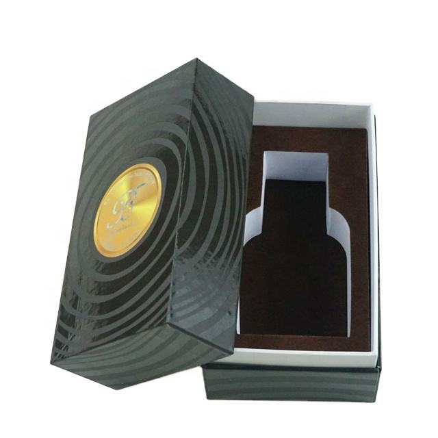 custom design perfume box with foam for arabic market