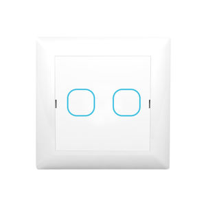 Dual Touch Dimmer Interruttore per Luci A LED 2 gang 250W LED Bordo di Uscita Dimmer