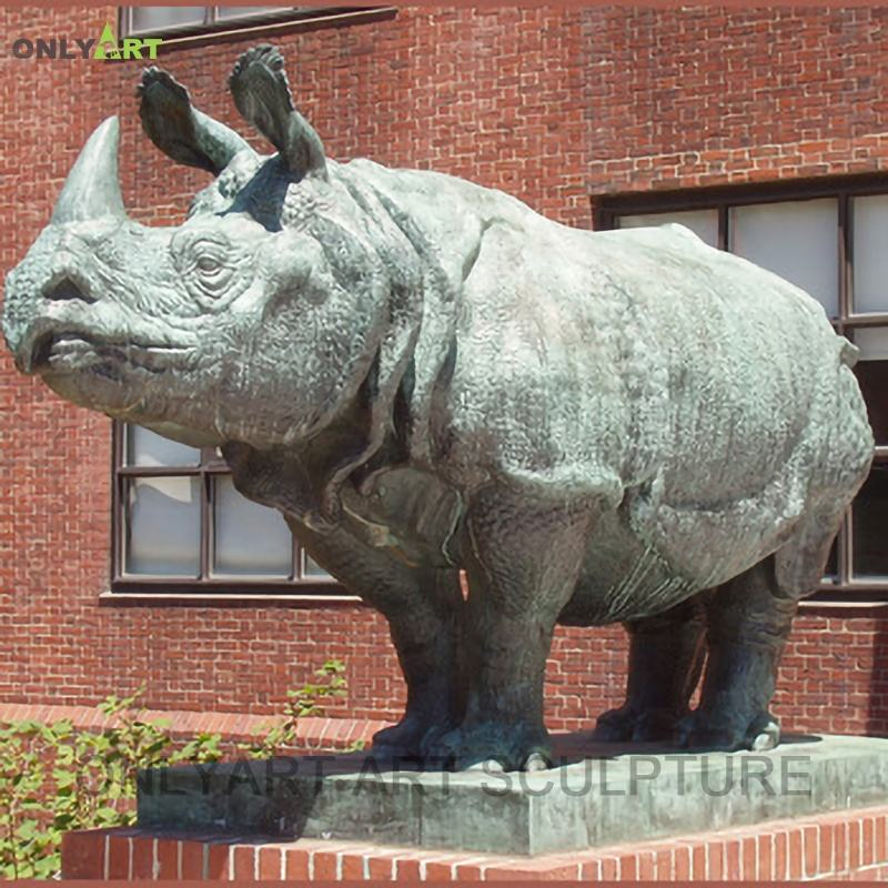 Chine <span class=keywords><strong>artisanat</strong></span> art délicat <span class=keywords><strong>cuivre</strong></span> rhinocéros sculpture