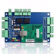 Wiegand TCP/IP two door access control panel board with SDK