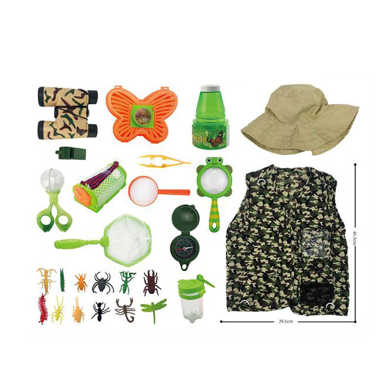 28PCS <span class=keywords><strong>Outdoor</strong></span> Adventure Set Kinder <span class=keywords><strong>kostüme</strong></span> für Kinder