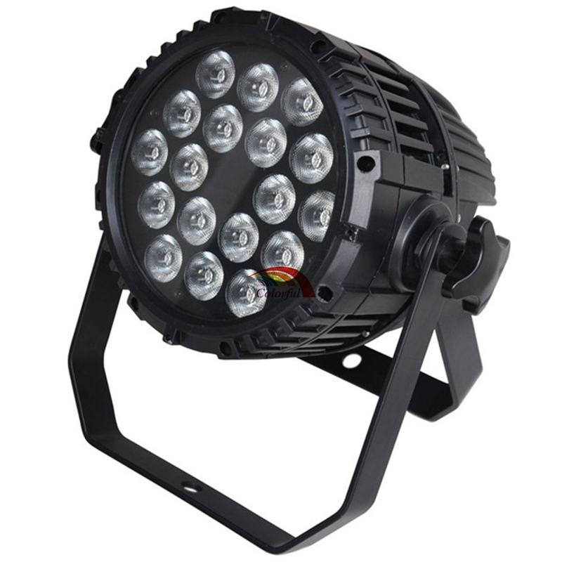 18x10W 4IN1 Quad color Outdoor LED Par 64