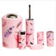 Wholesale Contemporary luxury Quality Pink Flamingo Hotel Simply Bathroom 6 pcs Accessories With Set