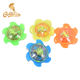 New Product Hot Sale Chinese Traditional Toys Light Up Mini Plastic Gyro Kids Spinning Top Toy