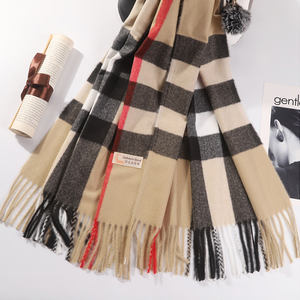 Exquisite workmanship women's 100% cashmere scarf cashmere superior quality wool scarf