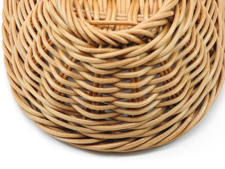 Bamboo Basket Natural Color Bamboo Basket Sundries Basket Handicraft Baskets