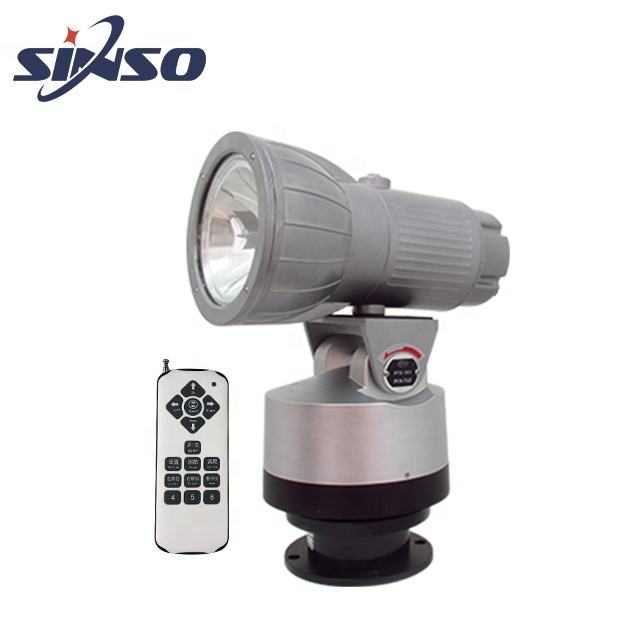 new product high intensity outdoor HID rotary search light for roof