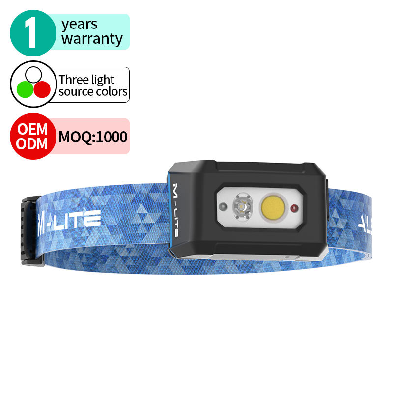 ALS M-lite 200lm Rechargeable Light Hunting & outdoors LED Headlamp