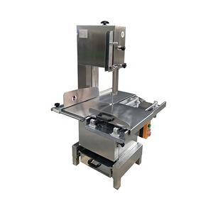 Automatic commercial/industrial bone cutter/meat band saw for cutting frozen meat bone and chicken