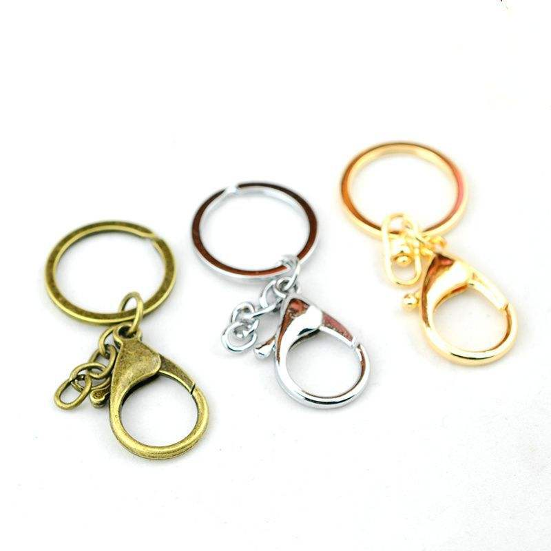 Manufacturers direct key chain, key ring,lobster clasp keychain key chain car parts