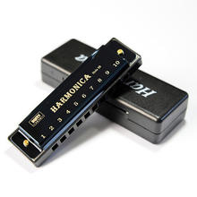 Fashion Style Musical Instruments Personalize Colorful Harmonica Blues Education Toy Harmonica 10 Hole