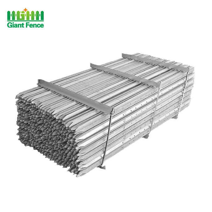 Manufacturer Metal Steel Star Picket Hot Dipped Galvanized Y Fence Post