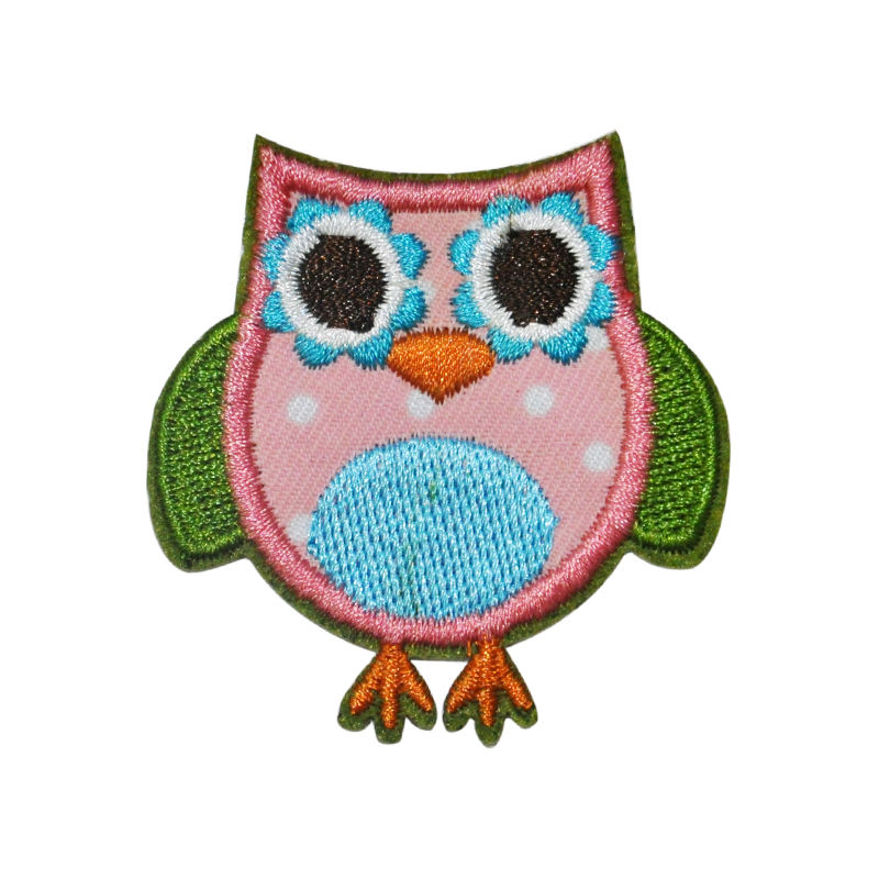 Embroidered Patch Iron On Patches Owl Patches For Clothing
