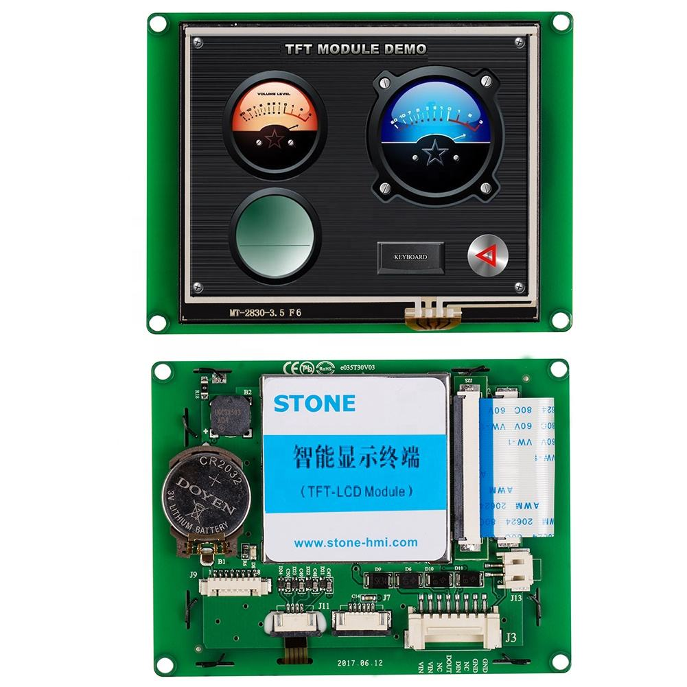 STONE 3.5 inch LCD Touch Screen Module with Control Board + Program for Industrial Automation Machine