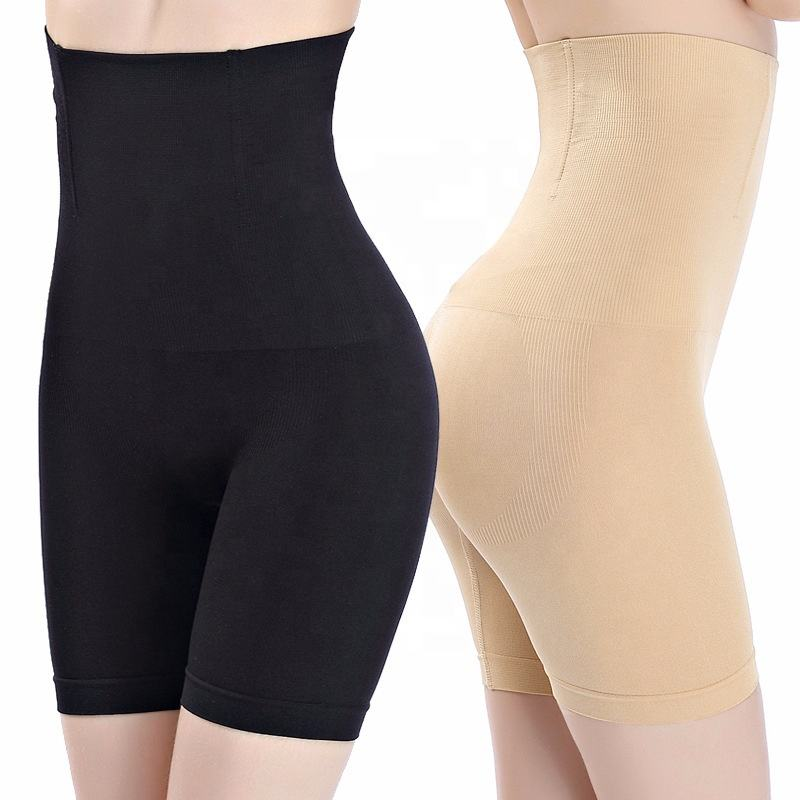 Women High Waist Shaping Panties Breathable Body Shaper Slimming Tummy Underwearパンティシェイパー