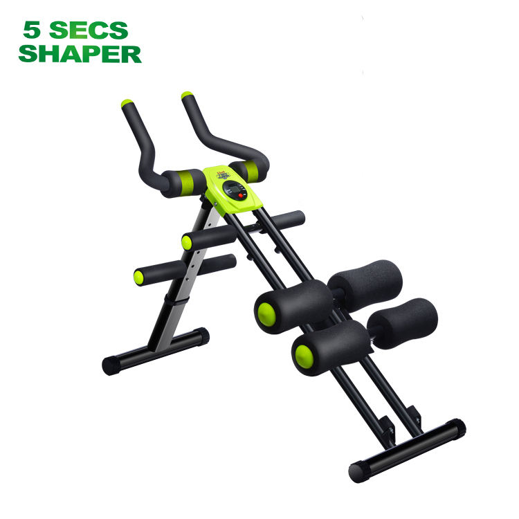 Bom Preço Ab Trainer Poder Cruncher 5 Minutos Shaper Da Cintura Abdominal <span class=keywords><strong>Fitness</strong></span>