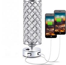 Modern Table Lamps Crystal Bedside Lamps for Bedroom