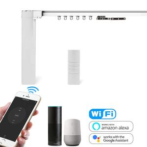 Gardens GM02580 zigbee wireless smart curtains and tracks motorized smart automatic curtain motor