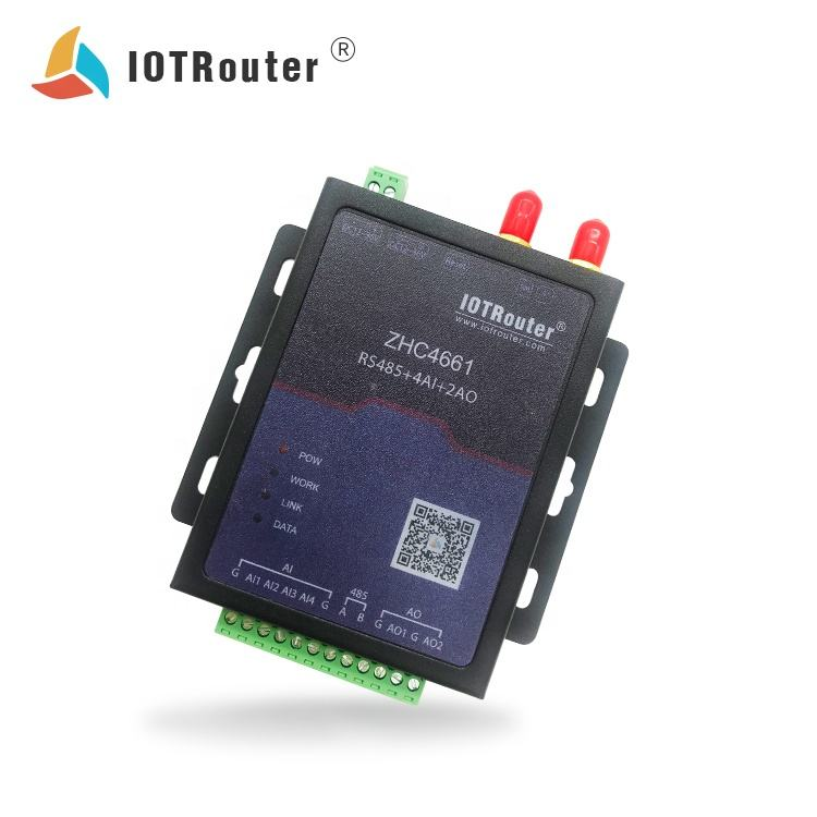 OEM Data Reader <span class=keywords><strong>GSM</strong></span> <span class=keywords><strong>Gateway</strong></span> Water Level Control Relay IOT Router ZHC4661 Modbus DTU Tinggi Rendah Suhu Controller 190