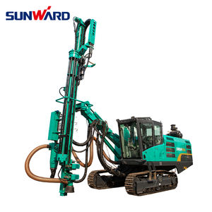 Appareil de forage géotechnique machine de forage rotative SUNWARD SWDB250 de roche de forage de puits