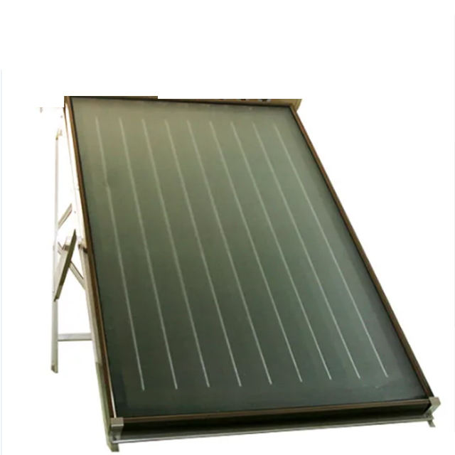 flat plate solar panel collector with 1.73 m2 absorber area