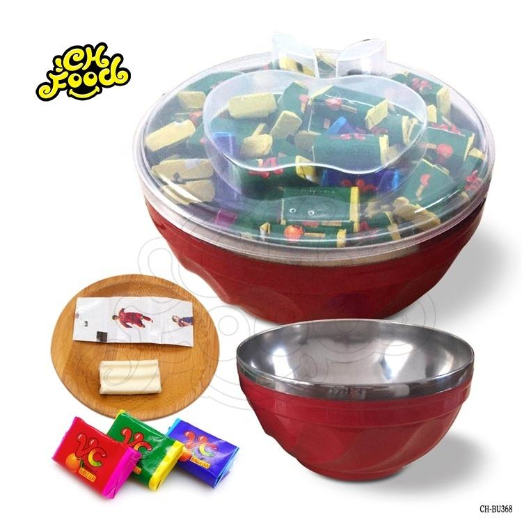 2020 New Style Plastic Small Bowl Bubble Gum With Tattoo Factory Price