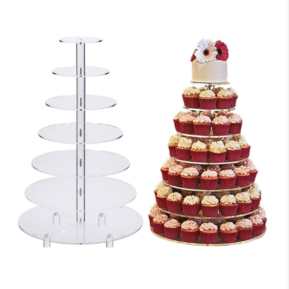 Birthday acrylic cake display stand countertop display stand wedding cake display holder