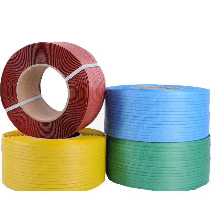 Wholesale custom color new plastic materials PP strapping band plastic pp strap for carton packaging