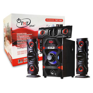 Tengo TG-1403 Low Distortion Amplifier Dynamic Bass Boost 3.1 Surround Sound HI-FI Multimedia Speaker System TG-13