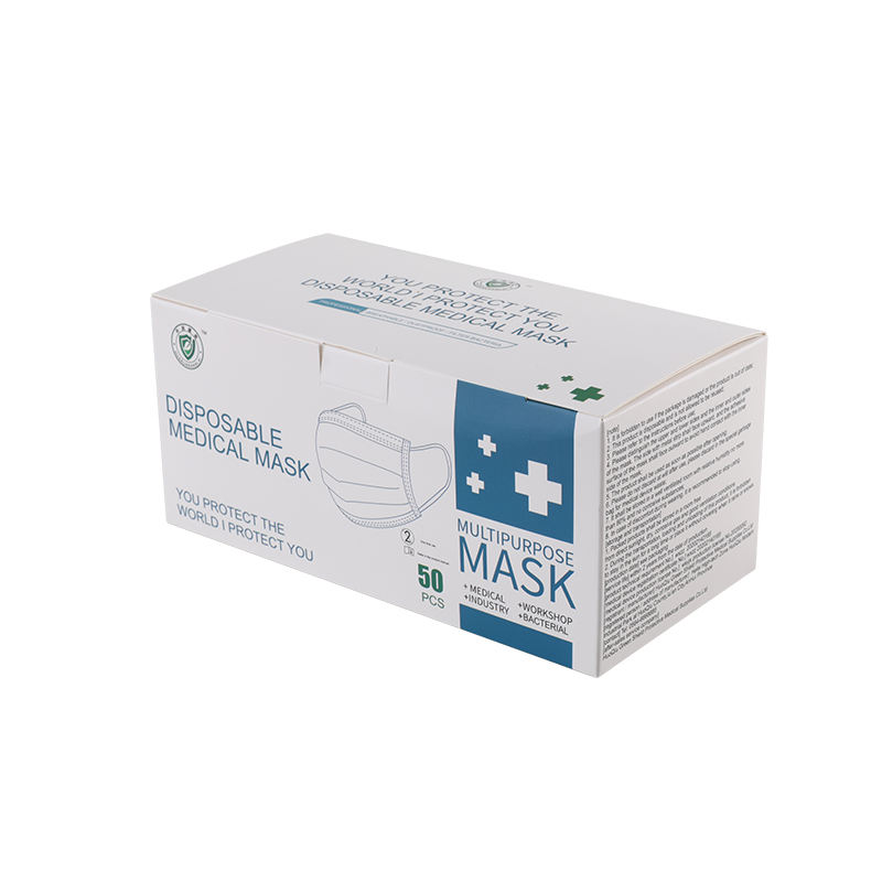 Factory 3 Ply Disposable Surgical Mask Medical Mask With High Quality Meltblown