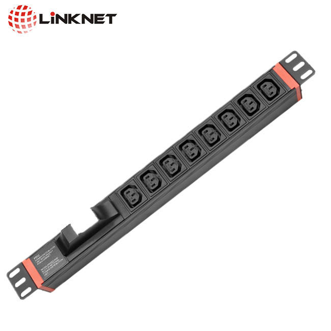 Hohe qualität IEC C13/C19/C14/20 rack mount PDU power distribution unit mit 32A industrie stecker 1 breaker