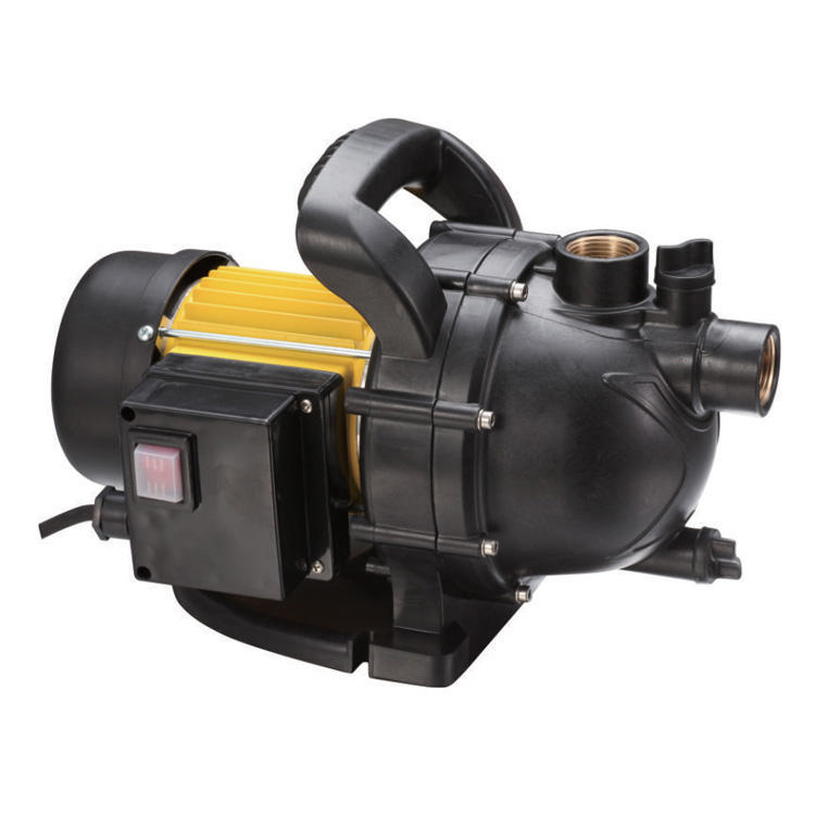 800w Easy Carry Aluminum Winding Motor Electric Small Garden Jet Water Pump With Plastic Body