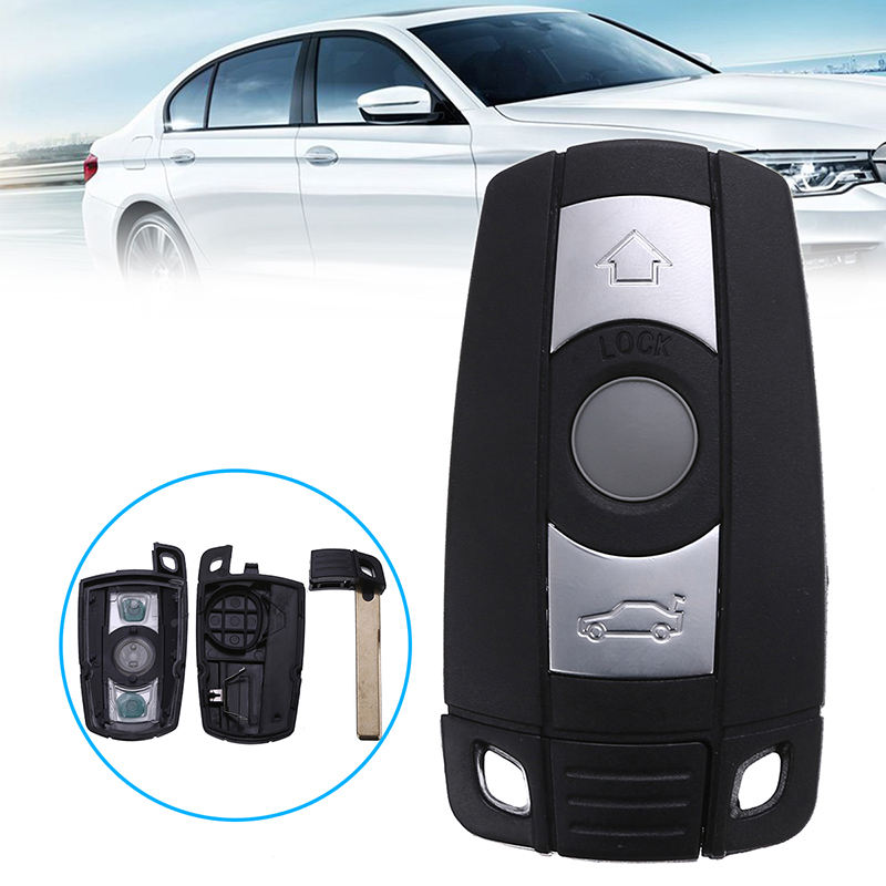 3 Buttons Car Key Fob Case For BMW E60 E90 E92 E70 E71 E72 E82 E87 E88 E89 X5 X6 For 1 3 5 6 Series Remote Smart Key Shell Cover