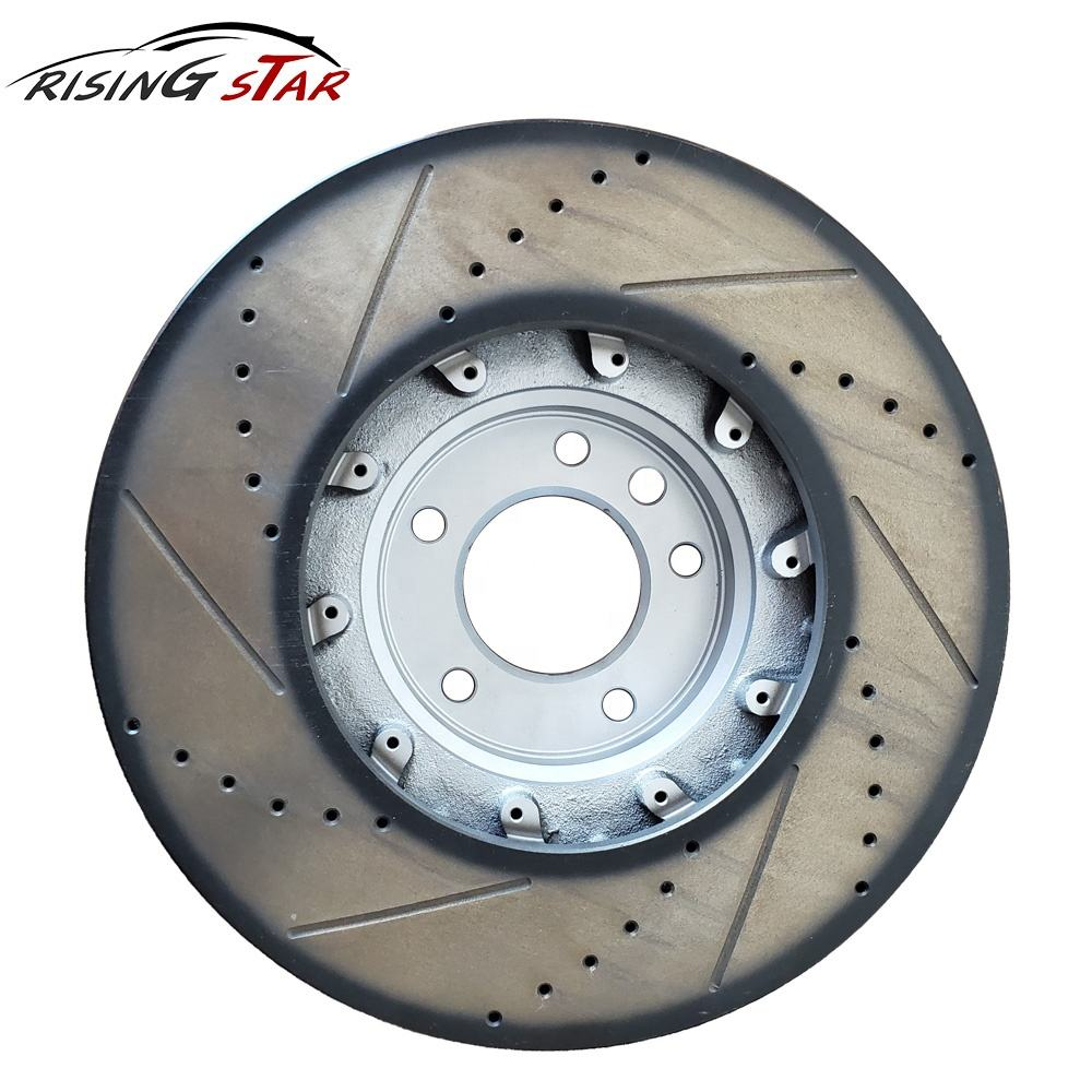 For Lexus Toyota Land Cruiser Sequoia Front Vented Disc Brake Rotors /& Pads