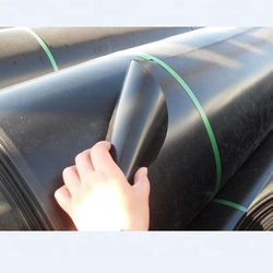 Hdpe waterproofing plastic geomembrane sheet  for aquaculture pond liner