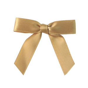 pre made mini satin ribbon bow with double sided tape