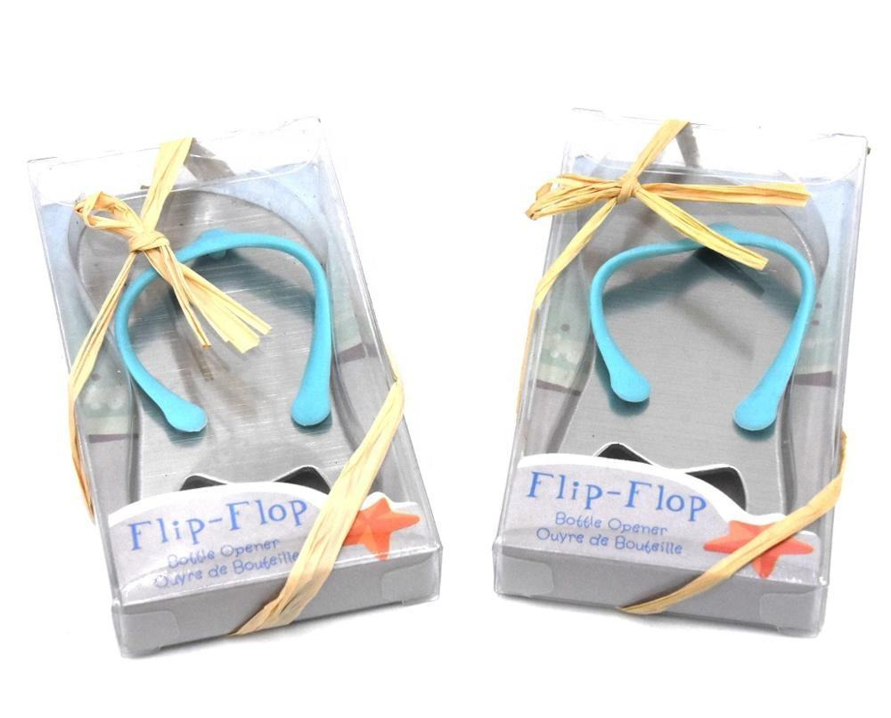 Wedding Customized Beach Sandal Bottle Opener Personalized Wedding Souvenirs
