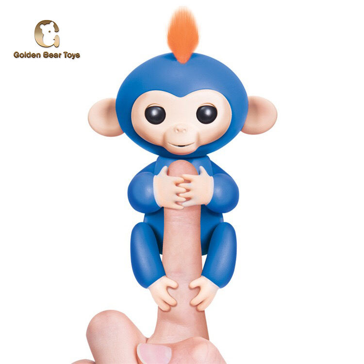 Hot Sell Finger Monkey Electronic Intelligent Sense Of Touch Fingertip Monkey Children Gift Kids Toy