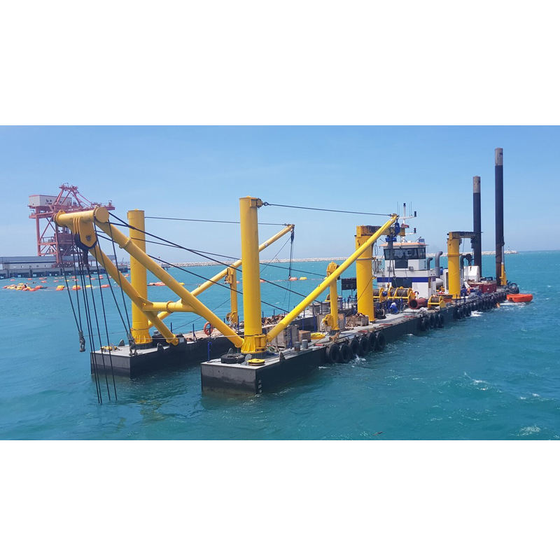 CSD650 cutter suction dredger 26 inch sand dredging machine