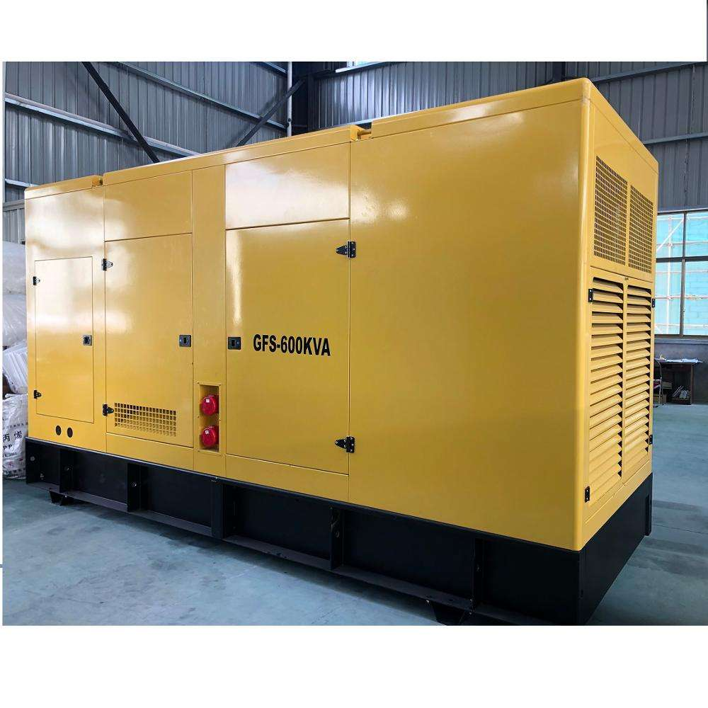 Commercial standby power big electric power plant 500kva 600kva diesel generator